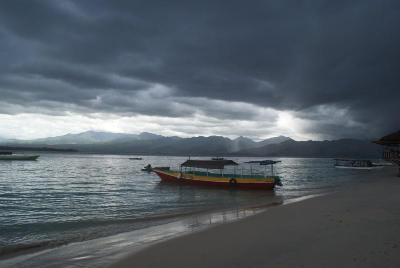 Blick auf Lombok
