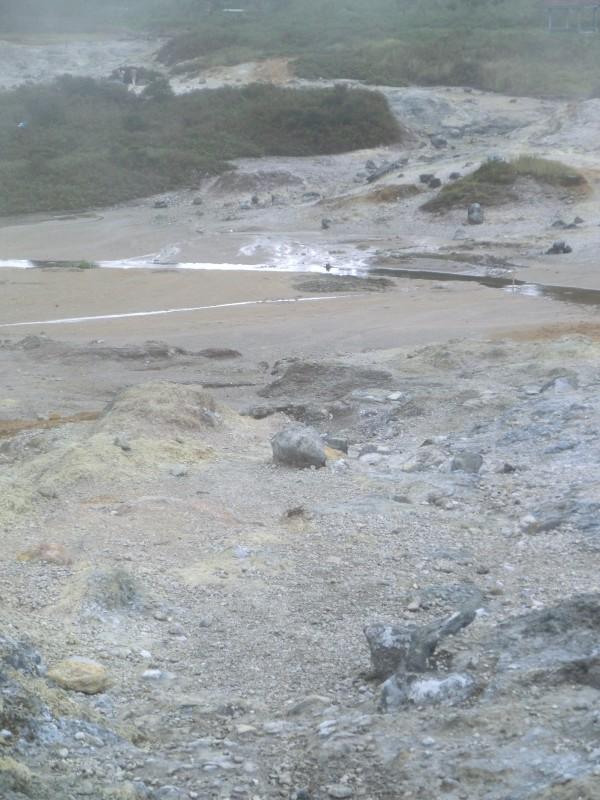 Landschaft um das Dieng-Plateau