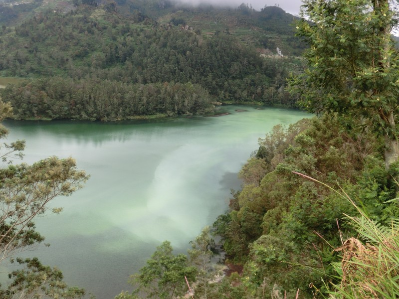Colour Lake, Dieng-Plateau
