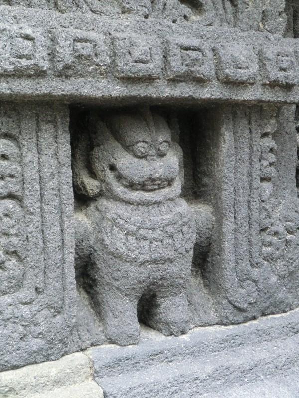 Lachender Löwe in Prambanan