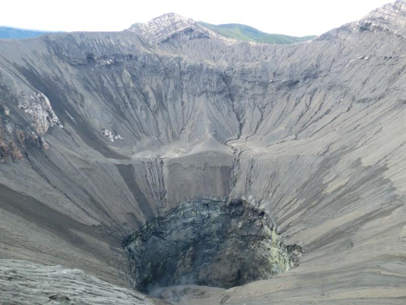 Der Krater des Bromo